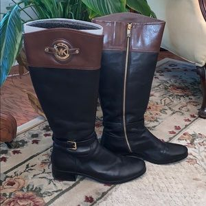 Michael Kors Stockard Boot Black/Mocha